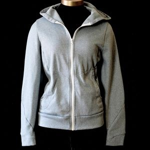 North Face Backyard Hoodie Zipper Front Size Small